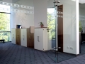 Palmberg gerealiseerd kantoor met draaideurkasten