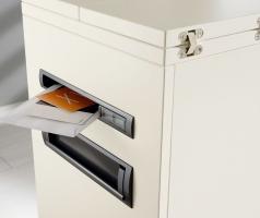 Palmberg caddy, brievenbus