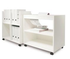 Palmberg documentenwagen en printertafel