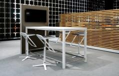 Palmberg Sinac hoge vergadertafel