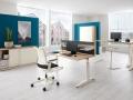 Palmberg Terio Plus opzetwand werkplek