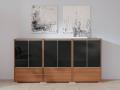 Palmberg Select sidebaord met zwarte glaze fronten