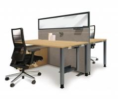 Palmberg Eiken Natuur bureau met vierkante poten